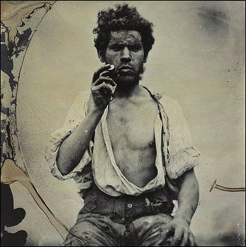 Irish Farm Labourer c.1858