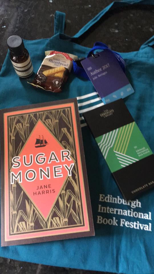 sugar money in goody bags at edinburgh festival