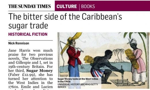 The Sunday Times review of Sugar Money by Jane Harris