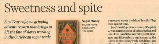 Sweetness and spite - FT review of Sugar Money