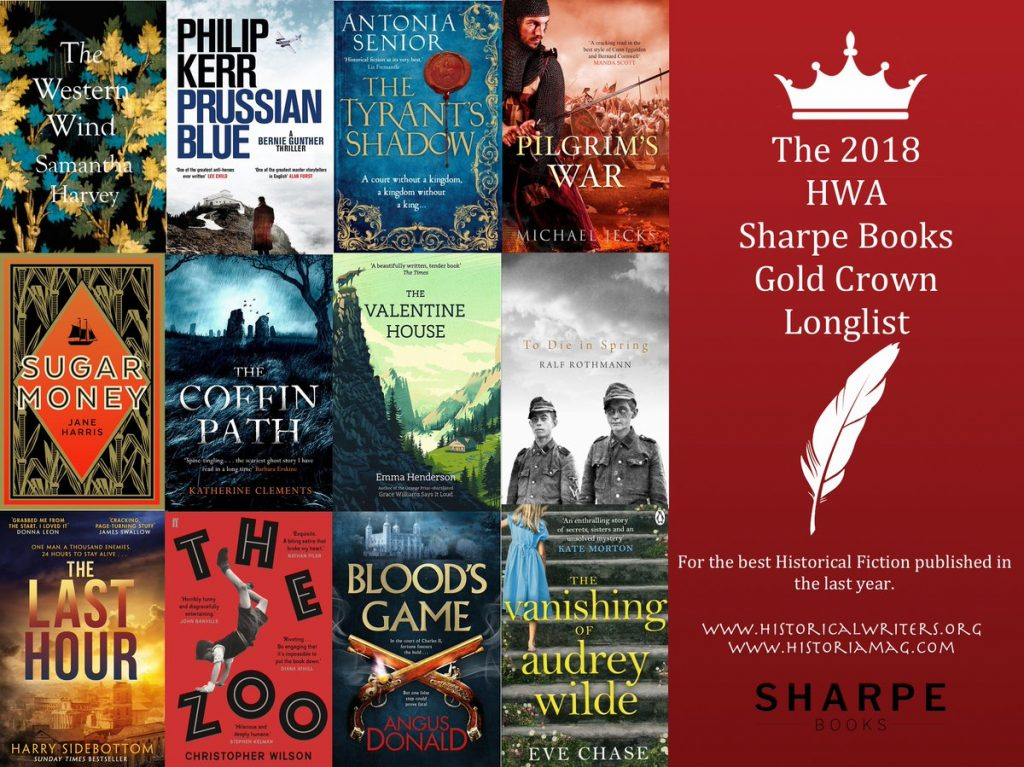 Sharpe Books Gold Crown Longlist